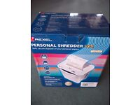 Rexel Personal Paper Shredder V25 New in Box £25 ONO