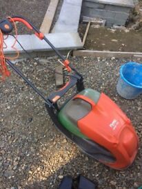 Electric lawnmower in good working order. Was 110 pounds new.