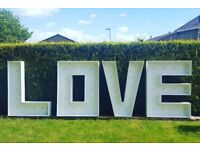 4ft love letters to buy!