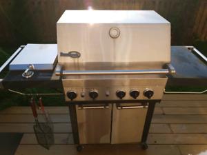 Stainless steel Charcoal Bar-B-Q BBQ
