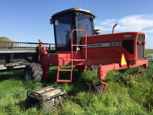 FOR SALE: MASSEY 220 SWATHER