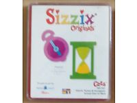 Sizzix Large Red Die: - Watch, Pocket & Hourglass - Pt. No. 38-1110