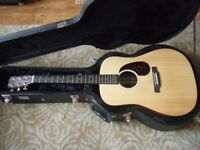Martin electro-acoustic guitar DX1 good condition