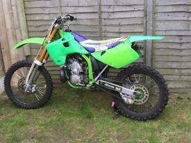 Kawasaki kx 250 93 2stroke