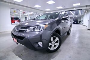 2013 Toyota RAV4  XLE, ONE OWNER, CLEAN CARPROOF, NON SMOKER, FU