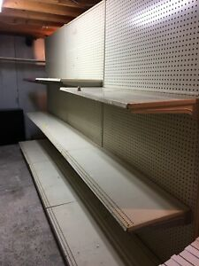 Industrial Double Sided Retail Shelf