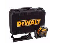 DeWalt DCE089NR-XJ 10.8v Self Levelling Multi Line Laser Red Bare Unit