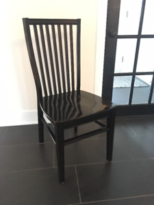 Ronan Dining Chairs (Rubbed Black)