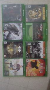 8 xbox one games for sale