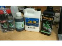 Formulex Nutrient Solution, SM 90, Neem Oil, PH up, PH down