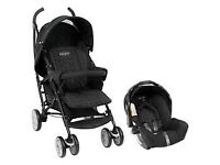Graco Pushchair with car seat and rain cover included