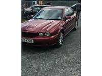 Jaguar x type diesel half leather