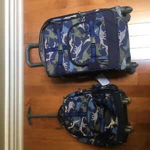 Pottery barn kids luggage set.