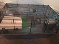 Hamster cage + 5kg woodshavings