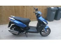 125cc scooter moped 2011 new mot
