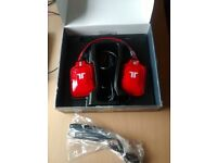 Triton PC Pro+ True 5.1 Dolby Surround Headset for PC and Mac (Red)