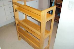 Folding bookcase, new lower price.