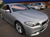 64 BMW 520D 184 BHP M-SPORT AUTO DIESEL *LEATHER SATNAV*
