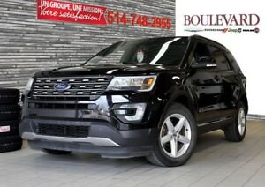 2016 Ford Explorer XLT + CAMERA + 7 PASSAGERS ECRAN!!!