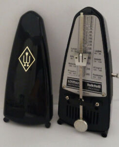 Vintage Wittner Metronome - Taktell Piccolo - black, wind-up ***
