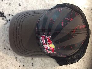 2 Red Bull Hats NEW