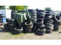 Free used tyres for FREE