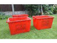 ex-recycling tubs