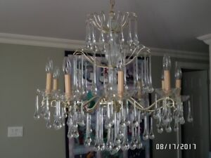 Chandelier Crystals Drops | Buy and Sell Furniture in Toronto (GTA ...