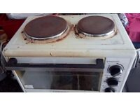 Electric Hob & Oven