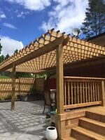 FENCES • DECKS • PERGOLAS