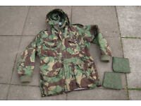Professionally Modified - British Army 'Falklands' Issue (1968 Pat) DPM Cold Weather Windproof Parka