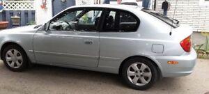 2004 Hyundai Accent Coupe (2 door)