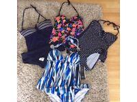 Bargain! 4 Tankini Swimsuits UK size 10