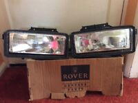 Rover maestro head lamps