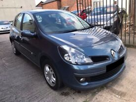 Renault Clio 1.5 dCi Dynamique 5dr -2006, £30 Tax, 12 Months MOT, FSH 8 Services, Full Glass Sunroof