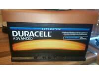 Duracell car battery 4yr guarantee