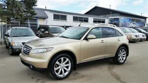 2004 INFINITI FX45 - Leather, Sunroof **MONSTER BLOWOUT SALE**