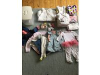 Baby Girl Baby Clothes Bundle & Baby Items