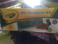 Children's keyboard mouse and mouse mat