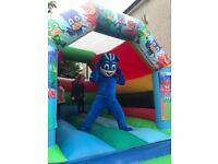 Insured Cheap Bouncy castles for hire including PJ Mask!! From £45