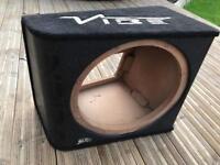 15 bass box sub box