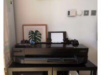 HP DesignJet T120 ePrinter - Wifi-large-format printer - colour - ink-jet