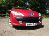 55 PEUGEOT 307 1.6,MOT MAY 018,2 OWNERS FROM NEW,2 KEYS,PART HISTORY,VERY RELIABLE FAMILY CAR