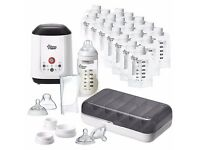 Heater+teats for pouches (Tommee Tippee Express & Go Complete Starter Set (without pouches))