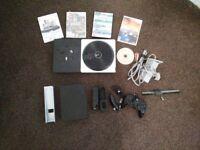 Nintendo Black Wii Console