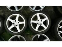 Ford and Peugeot 4x108 five spoke