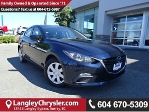 2015 Mazda Mazda3 GX w/AIR CONDITIONING & POWER ACCESSORIES