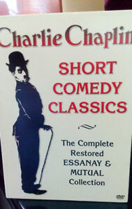 Charlie Chaplin - Short Comedy Classics (DVD box set)