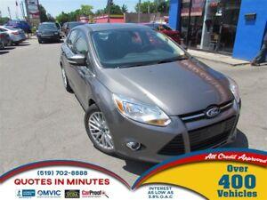 2012 Ford Focus SEL | SAT RADIO | MANUAL | BLUETOOTH