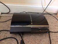 PS3 Bundle - Console, 1 controller, 9 games - excellent condition